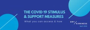 The covid 19 STIMULUS & support measures